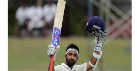 अफगानिस्तान के खिलाफ एकमात्र टेस्ट में भारत की कप्तानी करेंगे अजिंक्या रहाणे