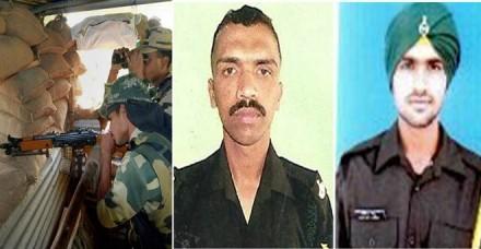 नियंत्रण रेखा के पास पाकिस्तानी गोलीबारी में दो जवान शहीद, पांच जख्मी