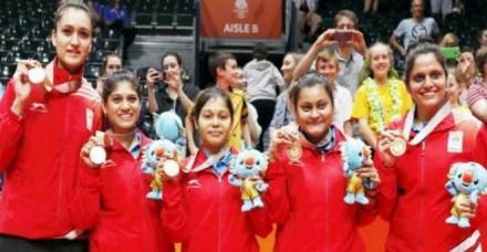 भारत को महिला टेबल टेनिस टीम ने दिलाया 7वां गोल्ड, चौथे दिन सोने की हैट्रिक