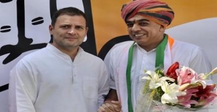 कांग्रेस में शामिल होने के बाद बोले मानवेंद्र सिंह, मेरे समर्थक आगे भी समर्थन करना जारी रखेंगे