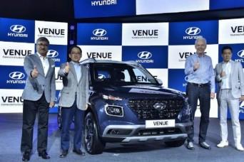 ह्यूंडई ने लॉन्च की अपनी नई कार 'Venue', कीमत 6.50 लाख रुपये से शुरू