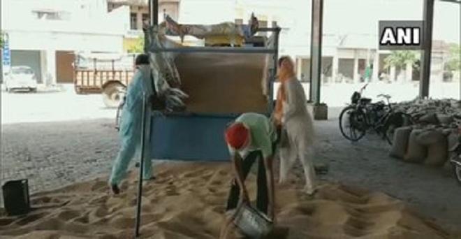 पंजाब के मोगा में बोरियों की कमी के कारण किसान अपनी गेहूं की फसल नहीं बेच पा रहे हैं, राज्य के डीसी संदीप हंस के अनुसार लॉकडाउन के कारण जूट मिलें बंद थी, लेकिन जल्द ही इसका हल निकाला जायेगा