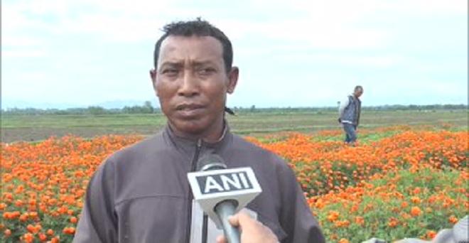 मणिपुर के इंफाल पश्चिम में फूल किसानों को कोविड-19 के कारण हुए लॉकडान से भारी नुकसान हुआ। एक किसान के अनुसार मार्च-अप्रैल में फूल बेचकर 80,000 रुपये कमाने की उम्मीद थी लेकिन मैं केवल 20,000 रुपये के फूल ही बेच पाया।