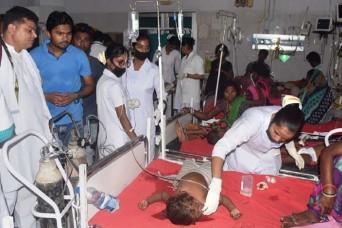 मुजफ्फरपुर में इंसेफेलाइटिस से अब तक 129 बच्चों की मौत, SKMCH के सीनियर रेजिडेंट डॉक्टर निलंबित