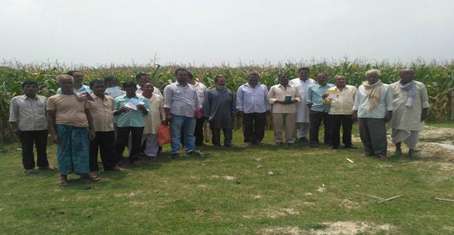 बिहार के करीब 200 किसानों को वर्ष 2017 में धान की फसल को हुए नुकसान का मुआवजा अभी तक नहीं मिला है