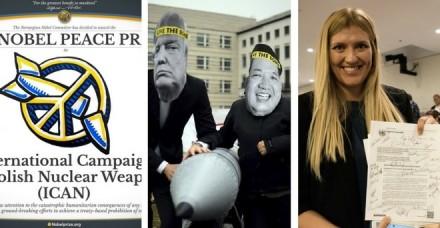 परमाणु हथियारों के खिलाफ अभियान को नोबेल शांति पुरस्कार