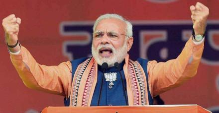 बिहार में जंगलराज पार्ट-2 न आने दें: नरेंद्र मोदी