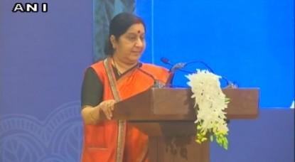 विश्व में भारत के बढ़ते प्रभुत्व का श्रेय PM मोदी को जाता है: सुषमा स्वराज