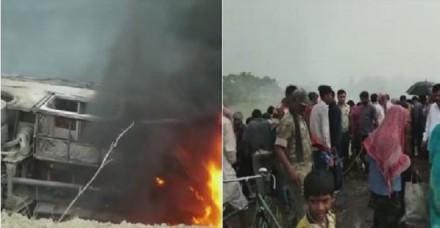 बिहार में बस हादसे की मिस्ट्री, मंत्री ने पहले कहा, 'मारे गए 27 लोग', अब बताया-किसी की नहीं हुई मौत