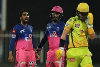 आईपीएल 2020, CSK vs RR: संजू-स्मिथ की दमदार पारी, राजस्थान ने चेन्नई को 16 रन से हराया