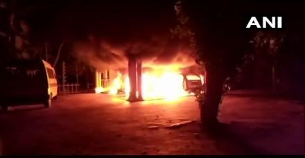 स्वामी संदीप गिरी के आश्रम में आगजनी, सबरीमाला में महिलाओं के प्रवेश का किया था समर्थन