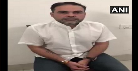 पिस्टल लहराने वाले आशीष पांडेय ने कोर्ट में किया सरेंडर, एक दिन की पुलिस कस्टडी में भेजा