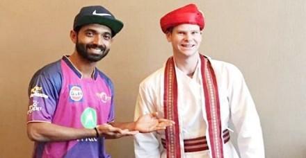 स्टीव स्मिथ की जगह अजिंक्य रहाणे संभालेंगे राजस्थान रॉयल्स की कप्तानी