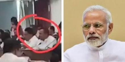 उपवास के दौरान स्नैक्स खाते दिखे भाजपा के 2 विधायक, वीडियो आया सामने
