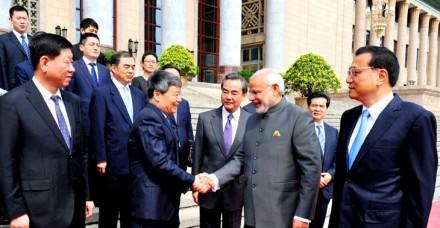 प्रधानमंत्री नरेंद्र मोदी की चीन यात्रा