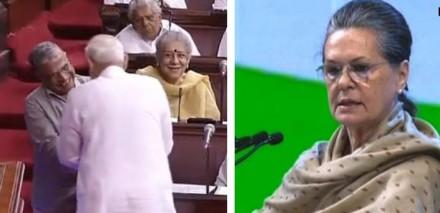 नए उपसभापति को मोदी ने सीट पर जाकर दी बधाई, सोनिया ने कहा- कभी हम जीतते तो कभी हारते हैं