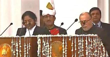 बैजल ने दिल्ली के उपराज्यपाल पद की शपथ ली