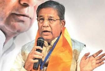 भाजपा आलाकमान को 'गंदी नाली' बता रहेे भाजपा के पूर्व मंत्री