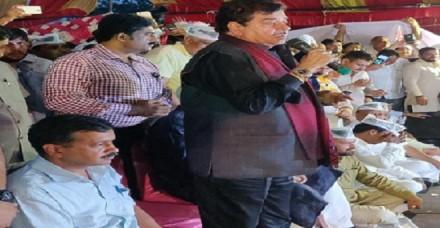 'आप' की रैली में भाजपा के 'शत्रु', केजरीवाल की जमकर की तारीफ