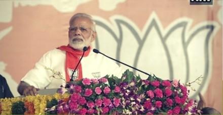 मोदी ने कांग्रेस पर लगाया गुजरातियोंं से नफरत का आरोप, बोले- मैं ही विकास, मैं ही गुजरात