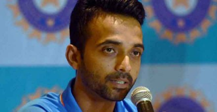भारत के 33वें टेस्ट कप्तान बने रहाणे