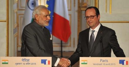 प्रधानमंत्री नरेंद्र मोदी की  फ्रांस यात्रा