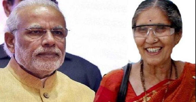 Jasodaben's counterpart on Anandiben patel's Statment, says- PM Modi had married me he is lord rama for me : Outlook Hindi