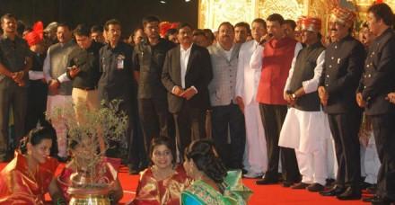महाराष्ट्र भाजपा अध्यक्ष ने बेटे की शाही शादी में किए 7 करोड़ रुपए खर्च
